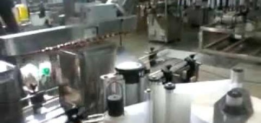 15 Kg Tin Labeling machine, Oil Tin labeling machine 20 Kg, 10 /15 Kg