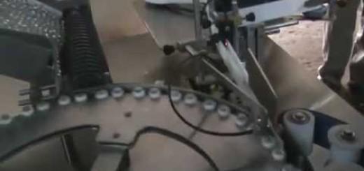 Ampoule Sticker Labeling Machine , Ampoule labeler machine -Vertical  model