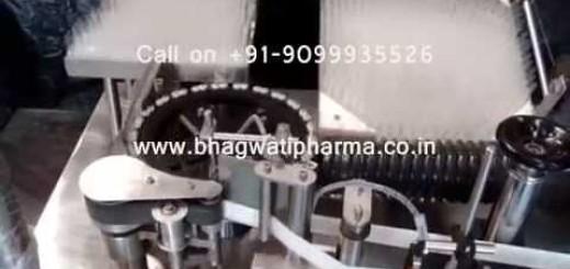 Ampoule Sticker Labeling Machine, Vertical Ampoule Labeling Machine