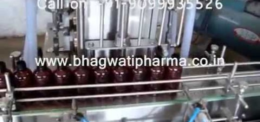 Automatic Bottle Filling machine for syrup, edible oil, pesticide liquid, hair oil, color