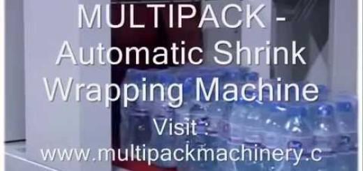 Automatic Shrink Wrapping Machine,Automatic Shrink wrap machine.wmv