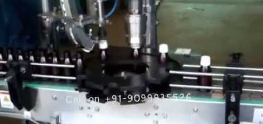 Automatic Single Head Screw Capping Machine for Pet and Glass Bottle