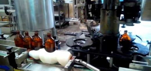 Ayurvedic Syrup Filling machine,  Glass Bottle Cap Sealing Machine