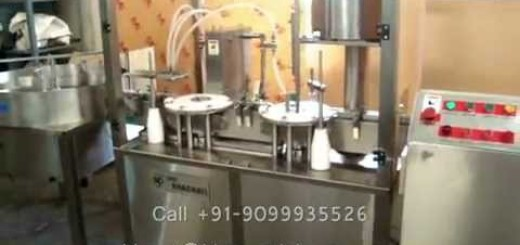 Bhagwati Make Vial Filling Line – Liquid Filling, Rubber Stoppering & Cap Sealing Machine