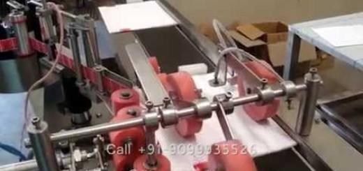 Booklet labeling machine , Booklet label applicator