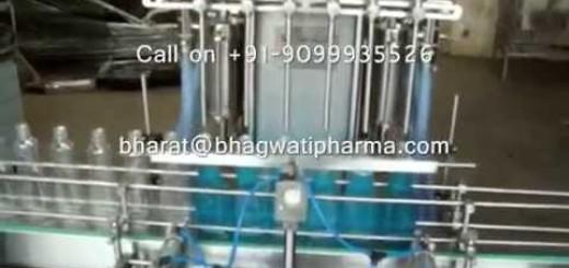Bottle Filling Machine for Floor Cleaner, Glass cleaner, Liquid Gel, Dishwashing Gel