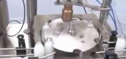 Bottle Flavoured Milk Filling Line , Crown Corking machine