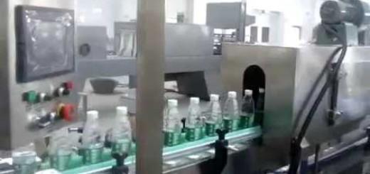 Bottle Shrink Sleeve Applicator with Steam tunnel