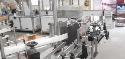 Candy Jar Capping Machine and Sticker Labeling Machine
