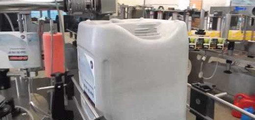 Double Side Labeling Machine for 20 liter, 25 liter, 15 liter, 10 liter, 5 liter Jerry Can