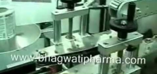 Double side labeling machine, Two side labeling machine .wmv