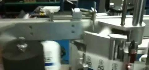 Double side labelling machine , front and back labelers for bottle