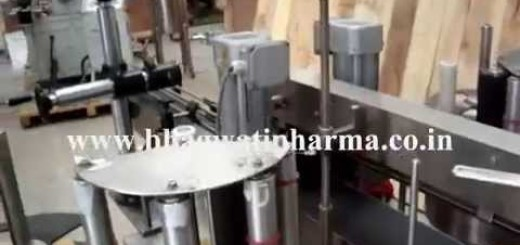 Double side Sticker labeling machine for Oval, square, rectangle, flat bottle or jar