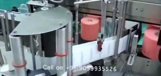 Double Side Sticker Labeling Machine for Tapper Tube or Bottle