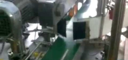 Double sided labeling machine for Can , Jerry can, Jar, Bottles Front and Back Labeling machine