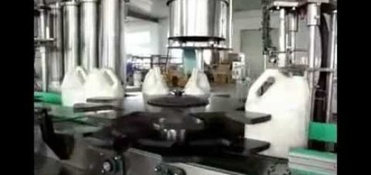 Edible oil filling machine , capping machine.avi