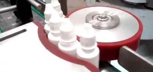 Eye Drop Bottle Sticker Labeling Machine