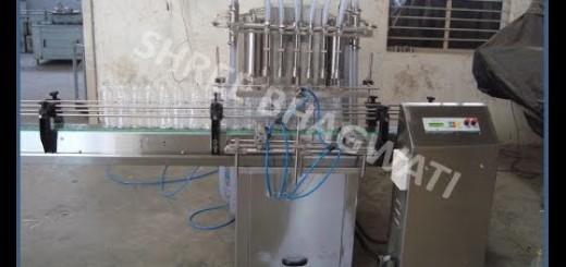 Filling Machine for Mustard oil, Edible Oil, Groundnut Oil, Palm Oil, Sesame Oil