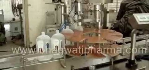 Flat bottle Screw capping machine