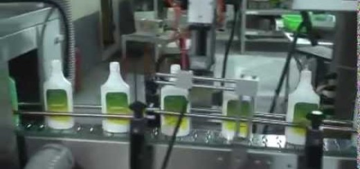 Flat Bottle Shrink Sleeve Applicator Machine