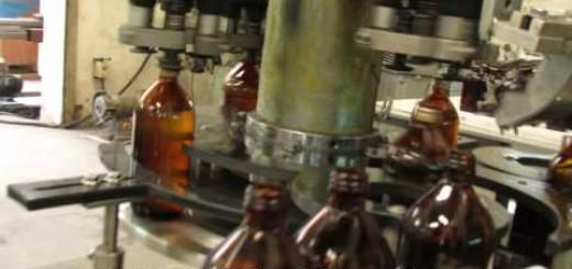 Four Head ROPP Cap Sealing Machine for glass bottle, pet bottle