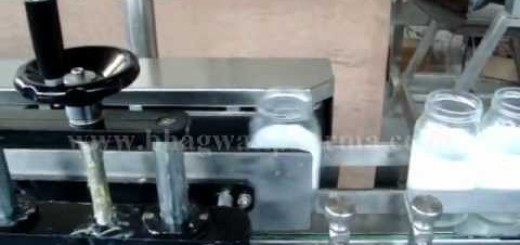 Label pasting machine for Pickle Jar, Pickle Glass Jar, Pickle Jar, Jar/Bottle,