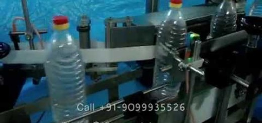 Labeling machine for Pet bottle, plastic bottles, Mineral Water bottle, Oil Botlte
