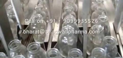 Linear Vial Washing Machine , Vial washer