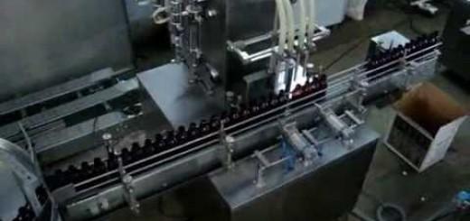 Liquid Filling Machine Four Head, Six Head and Eight Head Liquid Filling machine
