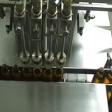 Liquid Filling Machine,Capping, Sticker labelling machine for Pharma Syrup