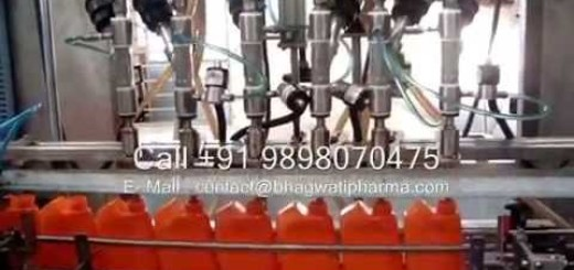Lube oil filling machine , Lubricant oil filling machine by flow meter and gear pump