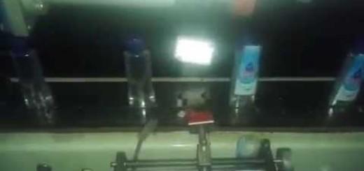 Oil Bottle Shrink Sleeve Label Applicator