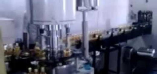 Oil filling machine, four head capping machine for Pet bottle