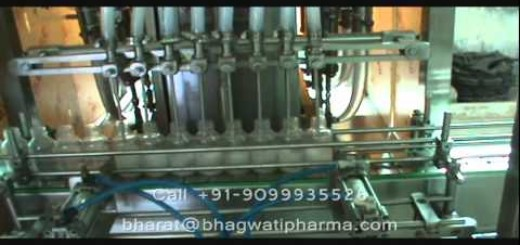 Oral Liquid Syrup Filling Line , Suspension filling machine , Syrup Filler