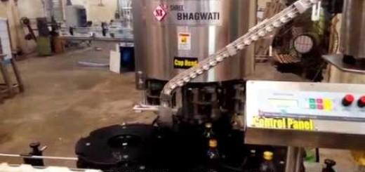 ROPP Cap Sealing Machine for 180 ML glass liquor Wine bottle ,ROPP cappers