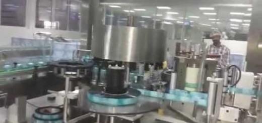 Rotary Hot melt label applicator , OPP/ BOPP Hot melt glue labelling machine