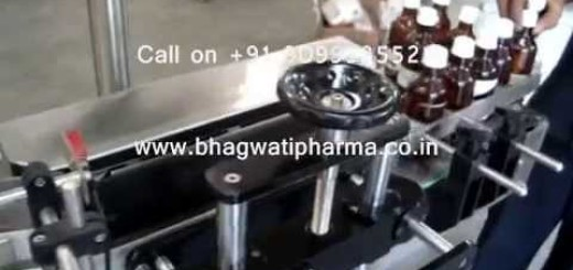 Round Bottle Sticker Labeling Machine without Change Parts