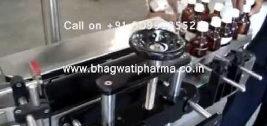 Round Bottle Sticker Labeling Machine without Change Parts