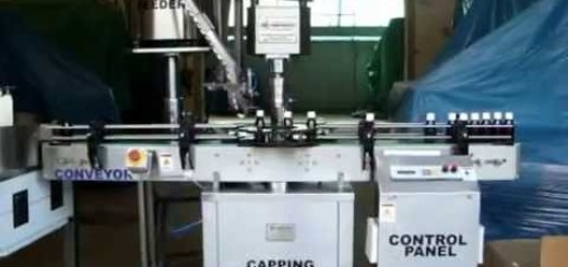 Screw Cap Sealing Machine for Dry Syrup bottle , Pharma bottle capper