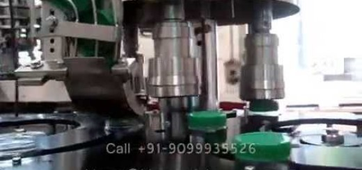 Screw capping machine and Labeling Machine for Pure Peanut Paste,  Salted Peanut Butter