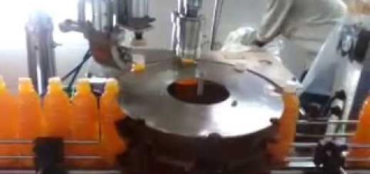 Screw capping machine for juice bottle, oil bottle, pet bottle, plastic bottle jar