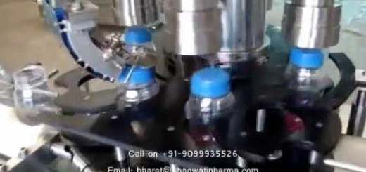 Screw capping machine for PET JAR , Jar Screw cappper machine
