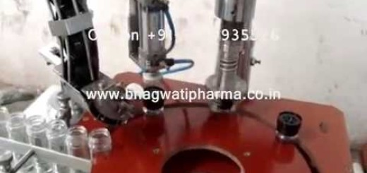 Screw capping machine for Tapper Cap, Glass Bottle Capping Machine