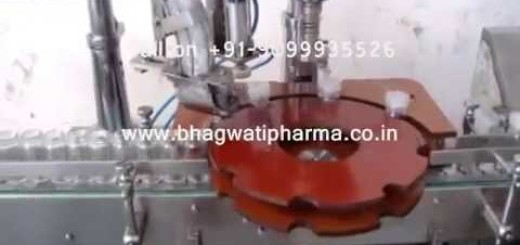 Screw Capping Machine  – Glass Bottle , Jar Screw Capping Machine