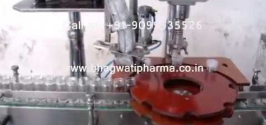 Screw Capping Machine, Glass Bottle Screw Capping Machine