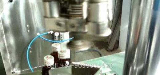 Semi Automatic Ropp Cap Sealing Machine