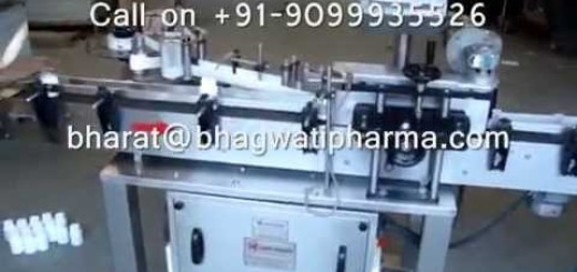 Semi Automatic Sticker Labeling Machine with conveyor