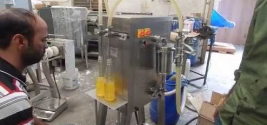 Semi Filling Machine for Dish wash gel, washing liquid, liquid detergent, Liquid gel