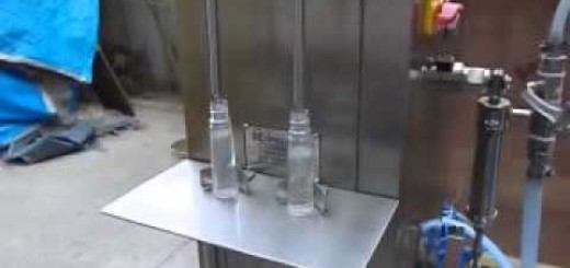 Semi Filling Machine for Hair Oil, Shampoo, Lotion, Liquid Syrup, Perfume
