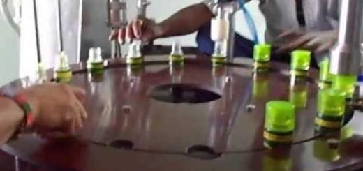 Semi Liquid + Plugging with Screw capping machine